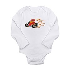 Wingless Flaming Sprint Body Suit
