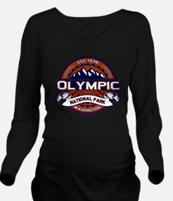 Olympic NP Vibrant.png Long Sleeve Maternity T-Shi