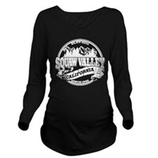 Squaw Valley Old Circle.png Long Sleeve Maternity