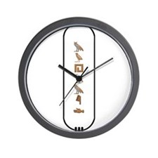 "Mohamed in Hieroglyphics ""Col Wall Clock"