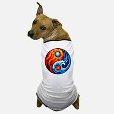 FIRE - WATER YIN - YANG Dog T-Shirt
