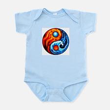 FIRE - WATER YIN - YANG Infant Bodysuit