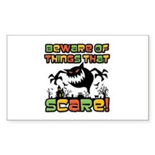 Beware Of The Scare! Decal