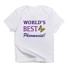 World's Best Pharmacist (Butterfly) Infant T-Shirt