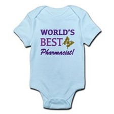 World's Best Pharmacist (Butterfly) Infant Bodysui