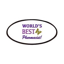World's Best Pharmacist (Butterfly) Patches