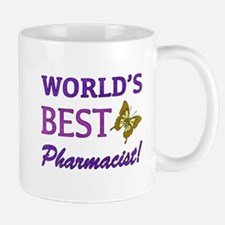 World's Best Pharmacist (Butterfly) Mug