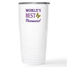 World's Best Pharmacist (Butterfly) Travel Mug