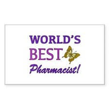 World's Best Pharmacist (Butterfly) Decal