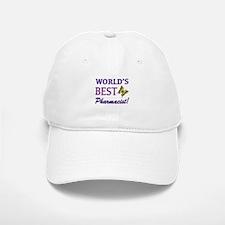 World's Best Pharmacist (Butterfly) Baseball Baseball Cap