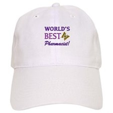 World's Best Pharmacist (Butterfly) Baseball Cap