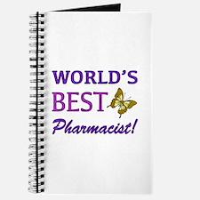 World's Best Pharmacist (Butterfly) Journal