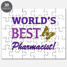 World's Best Pharmacist (Butterfly) Puzzle