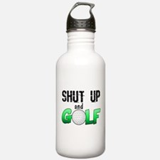 Shut Up and Golf Water Bottle