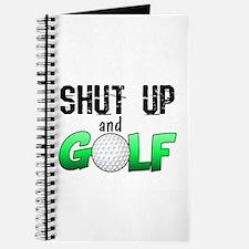 Shut Up and Golf Journal