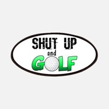 Shut Up and Golf Patches