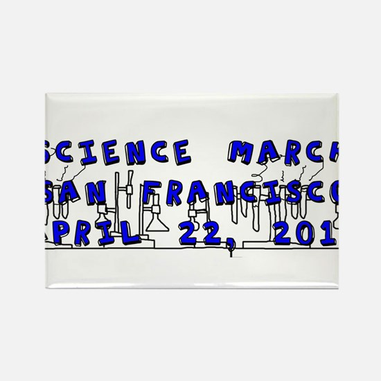 Science March San Francisco Bay Area Magnets