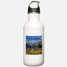 Personalizable Grand Tetons Souvenir Water Bottle