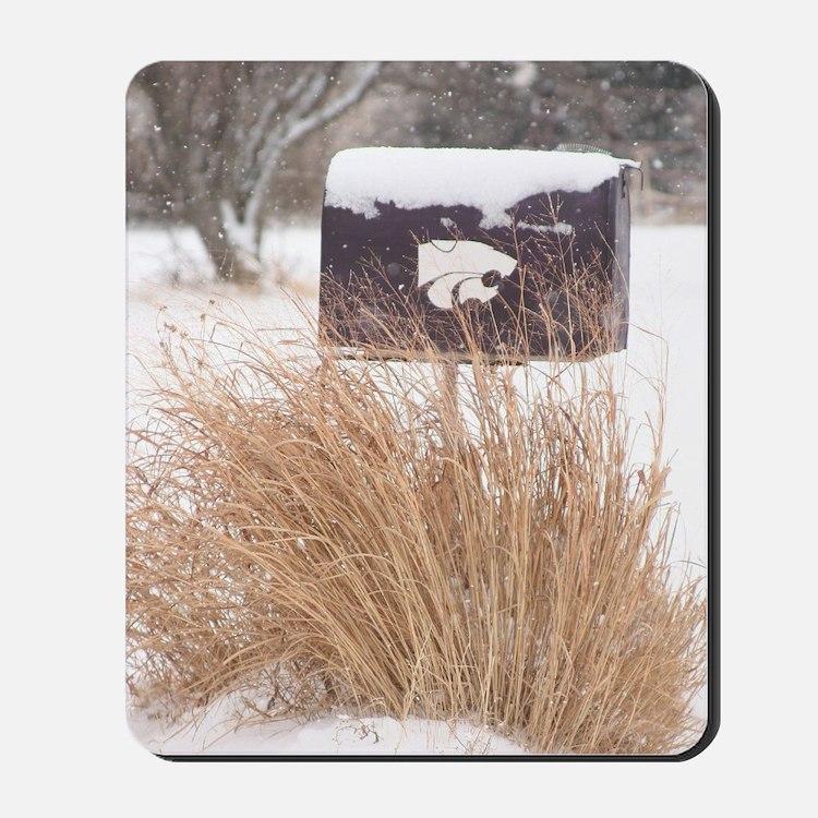 Winter Mailbox Mousepad
