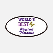 World's Best Physical Therapist (Butterfly) Patche