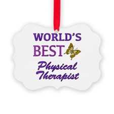 World's Best Physical Therapist (Butterfly) Pictur