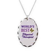 World's Best Physical Therapist (Butterfly) Neckla