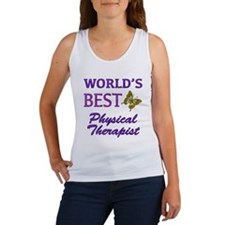 World's Best Physical Therapist (Butterfly) Women'