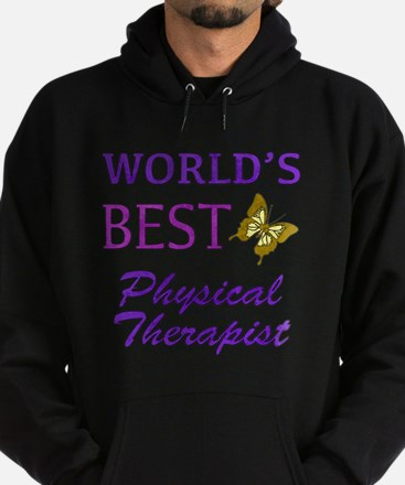 World's Best Physical Therapist (Butterfly) Hoodie