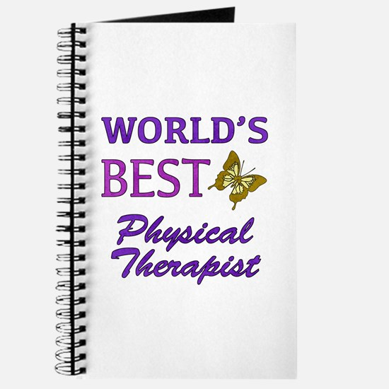 World's Best Physical Therapist (Butterfly) Journa