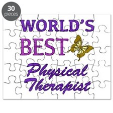 World's Best Physical Therapist (Butterfly) Puzzle