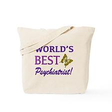World's Best Psychiatrist (Butterfly) Tote Bag