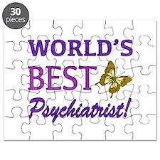 World's Best Psychiatrist (Butterfly) Puzzle