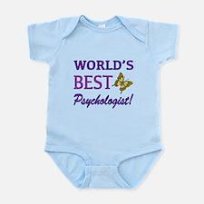 World's Best Psychologist (Butterfly) Infant Bodys