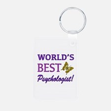 World's Best Psychologist (Butterfly) Keychains
