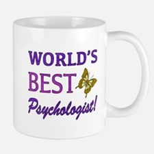 World's Best Psychologist (Butterfly) Mug