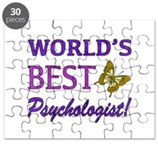World's Best Psychologist (Butterfly) Puzzle