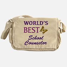World's Best School Counselor (Butterfly) Messenge