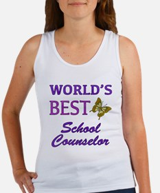 World's Best School Counselor (Butterfly) Women's