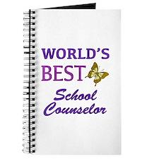 World's Best School Counselor (Butterfly) Journal