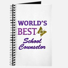 World's Best School Counselor (Butterfly) Journal
