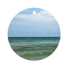 Gulf of Mexico Round Ornament