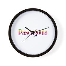 Pascagoula Wall Clock