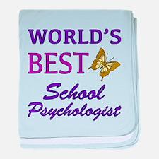 World's Best School Psychologist (Butterfly) baby