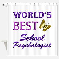 World's Best School Psychologist (Butterfly) Showe