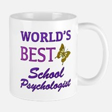 World's Best School Psychologist (Butterfly) Mug