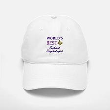 World's Best School Psychologist (Butterfly) Baseball Baseball Cap