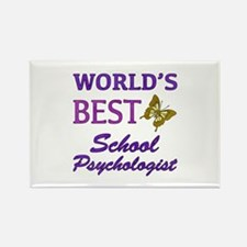 World's Best School Psychologist (Butterfly) Recta