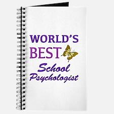 World's Best School Psychologist (Butterfly) Journ