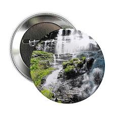 """Amicalola Falls in North Georgia 2.25"""" Button"""