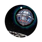Munchhausen's Interstellar Ornament (Round)